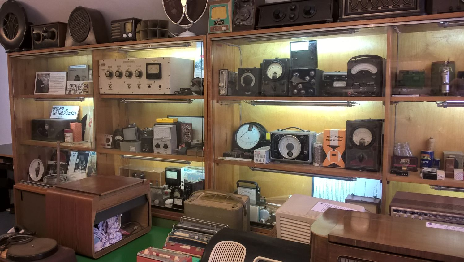 Radiomuseum DK Ringsted Messgeräte