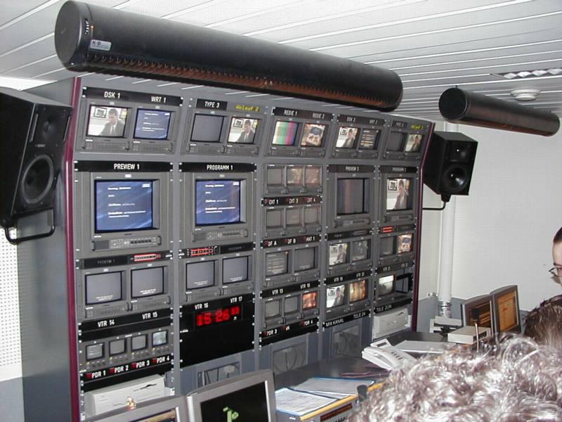 Tele 24 Regieraum